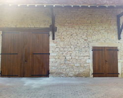 Portes de grange à Sercy